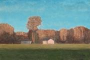 "<h5>La Fin du Jour</h5><p>Oil on canvas, 38¼"" x 57½"" (97 x 146cm)</p>"