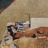"<h5>Santa Catalina</h5><p>Oil on linen, 31 ½ x 31 ½"" (80 x 80cm)</p>"