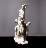 "<h5>The Innocents (Group)</h5><p>Plaster, 7 x 20 x 11"" (18 x 51 x 28cm)																																																																																																						</p>"