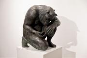 """<h5>Crouching Minotaur (Giant)</h5><p>Bronze, 35 ½ x 33 ½ x 31 ½"""" (90 x 85 x 80cm)</p>"""