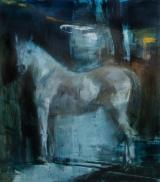 """<h5>Equus no. 10</h5><p>Oil on canvas, 60"""" x 55"""" (152 x 140cm)</p>"""