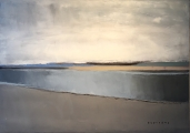 """<h5>Smooth Sea</h5><p>Oil on canvas, 25½"""" x 36"""" (64.7 x 91.4)</p>"""