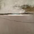 "<h5>On the Beach Again</h5><p>Oil on canvas, 31¼"" x 31¼"" (79.3 x 79.3cm)</p>"