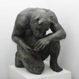 """<h5>Crouching Minotaur (Giant)</h5><p>Bronze, 35½ x 33½ x 31½"""" (90 x 85 x 80cm)</p>"""