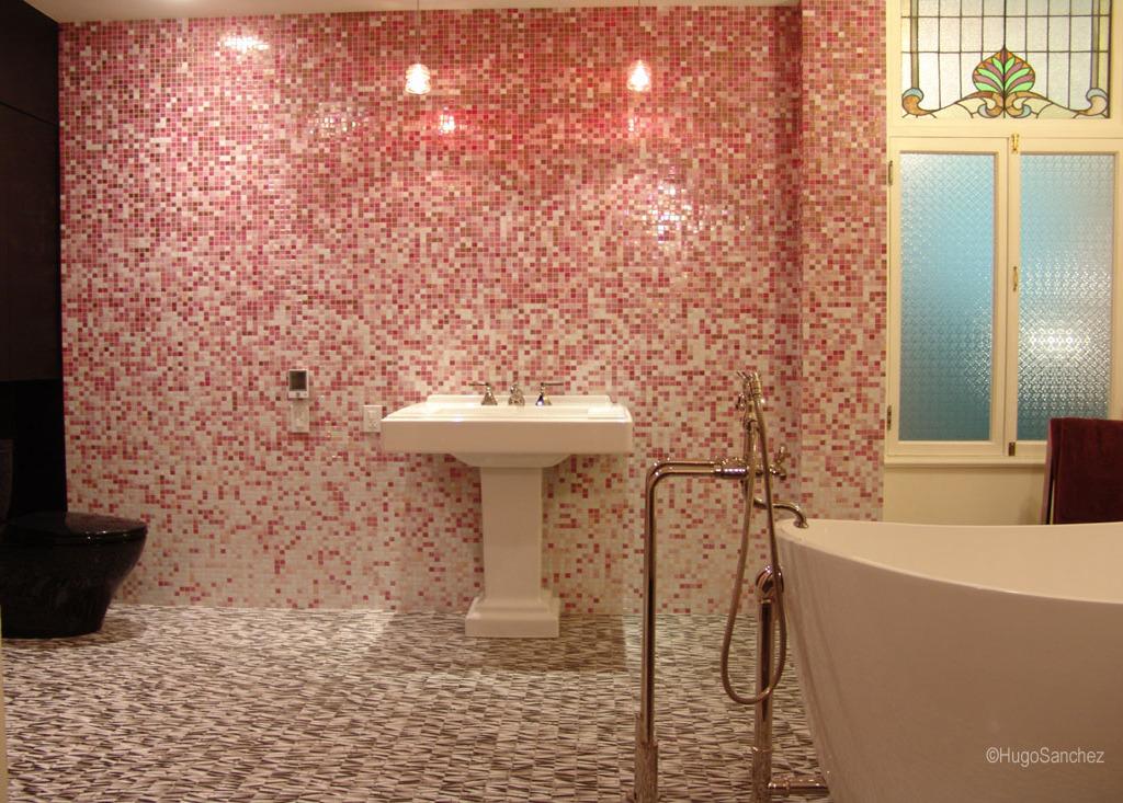 Bisazza Pink Cramiques Hugo Sanchez Inc