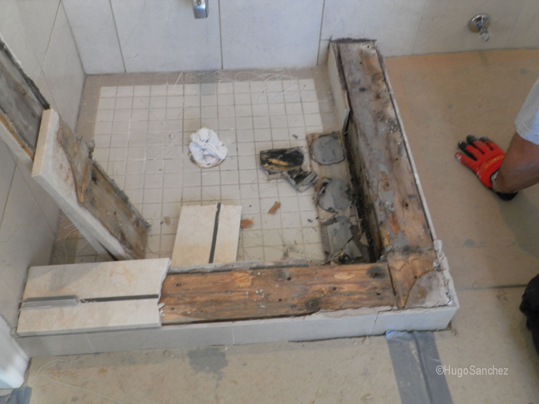 Shower Renovation Cramiques Hugo Sanchez Inc