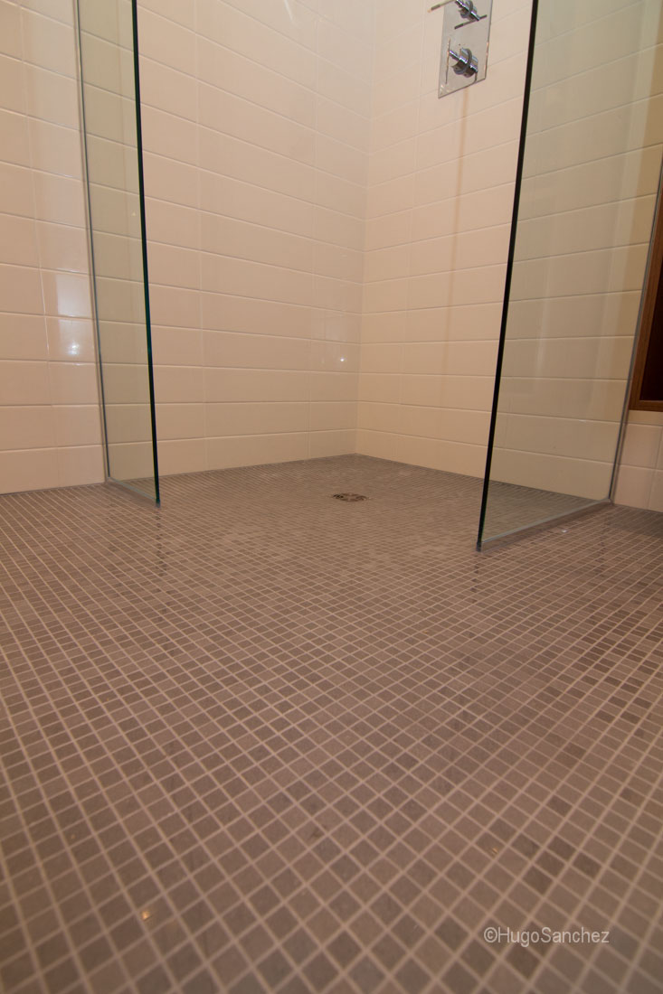 Basement Wet Room Cramiques Hugo Sanchez Inc