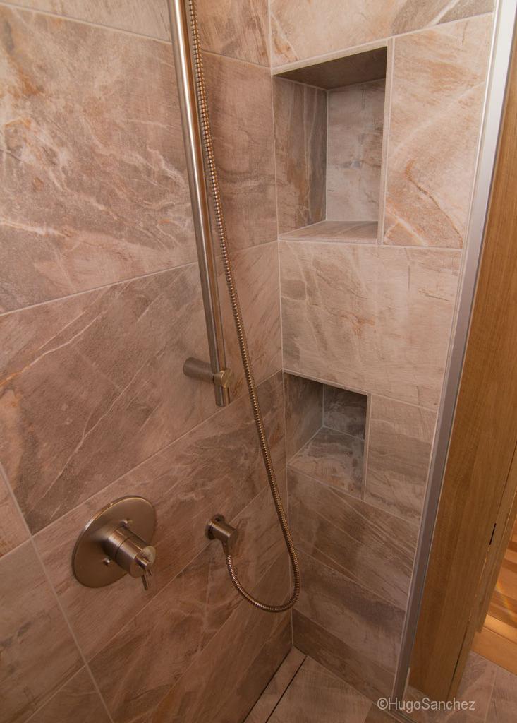 Custom Tile Shower Cramiques Hugo Sanchez Inc