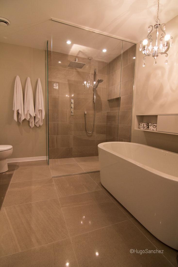 Heated Shower Floor Cramiques Hugo Sanchez Inc