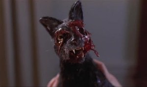 night of the creeps zombie cat