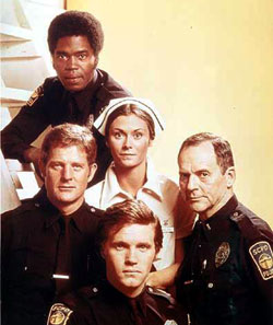 kate jackson and cast of The Rookies