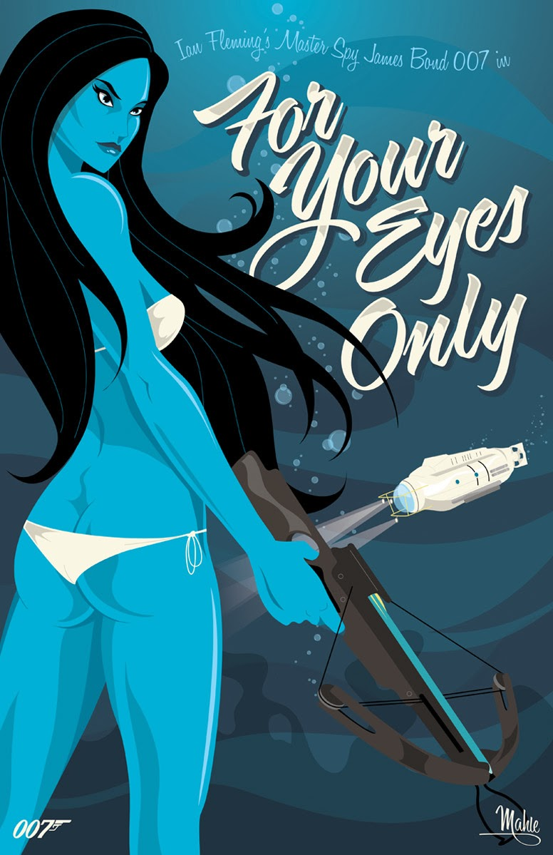 Mike Mahle – James Bond_12 – For Your Eyes Only