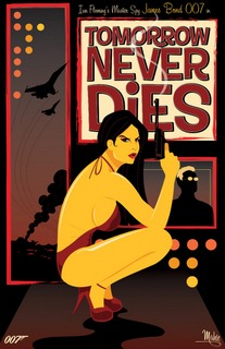 Mike Mahle – James Bond_18 – Tomorrow Never Dies