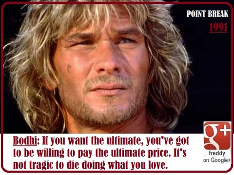 PATRICK SWAYZE - POINT BREAK