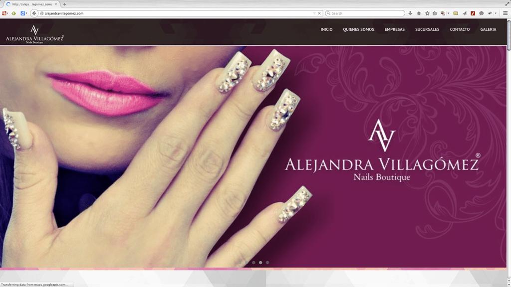 Alejandra Villagómez / Empresa de Diseño de Uñas