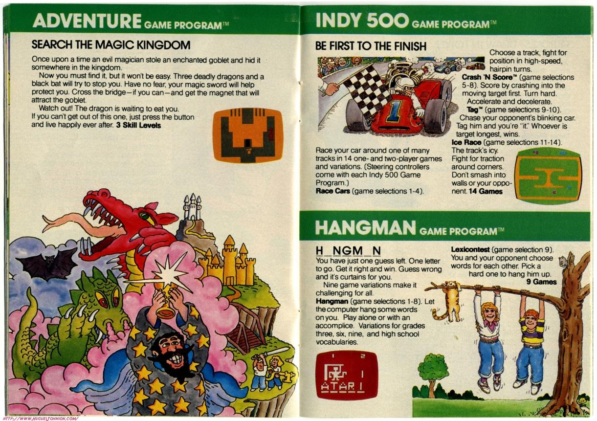 Atari Catalog 1981 Scans