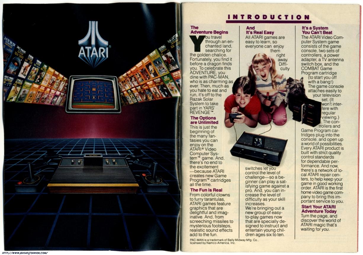 Atari Catalog 1982 Scans