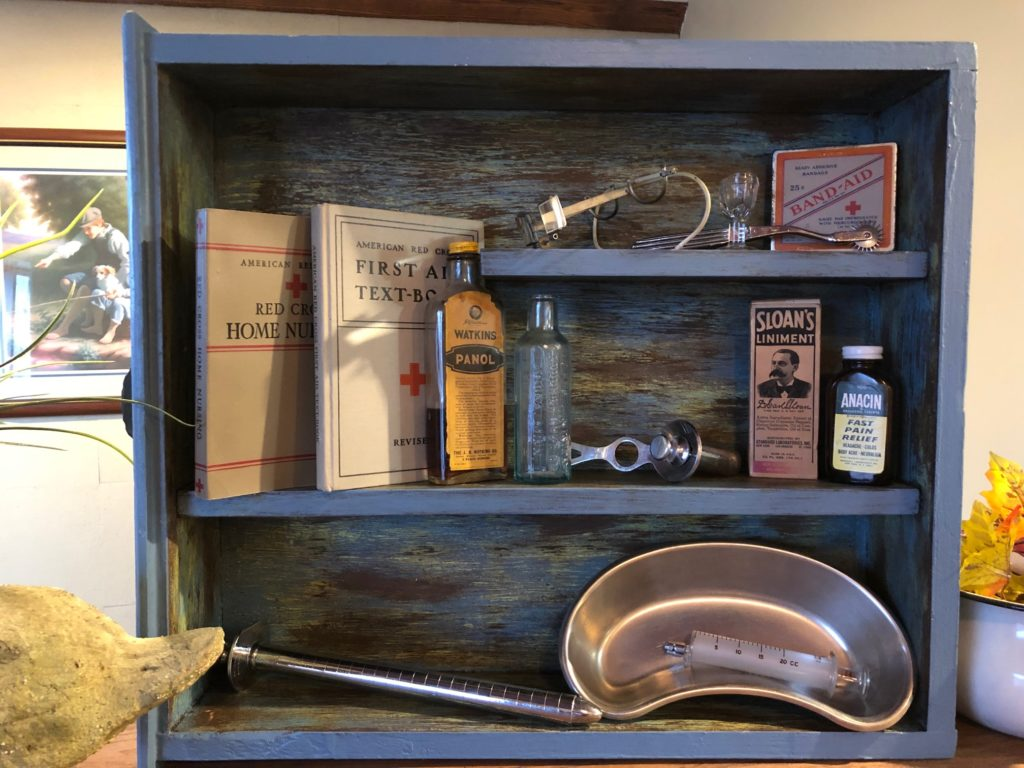 Old Medical Implements Display