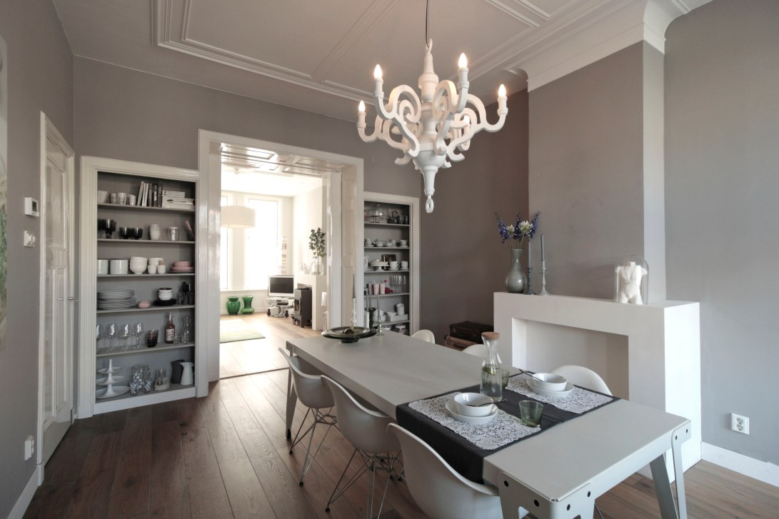 HUISnummer5 Den Haag | interieuradvies, interieurontwerp, bouwbegeleiding, styling en design. Eetkamer+keuken.