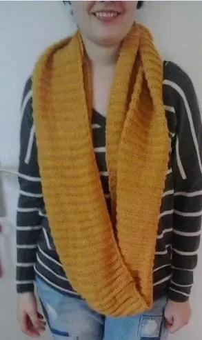 ronde sjaal