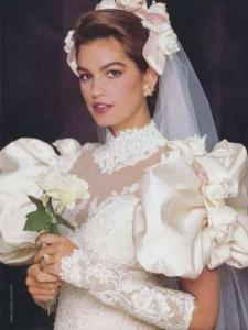 80s trouwjurk