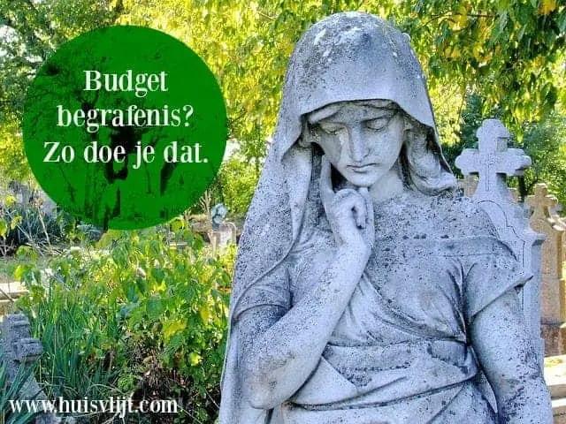 begrafenis budget