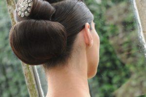 Chignon salon coiffure rouen