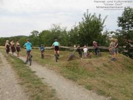Fahrrad-Cross-Strecke