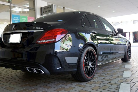 Mercedes AMG C63S Edition1