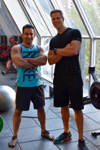 Training Alan Orangi