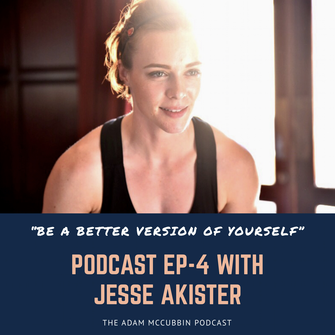 EP 4 - Jesse Akister: Lifting sexy & the mental approach to strength