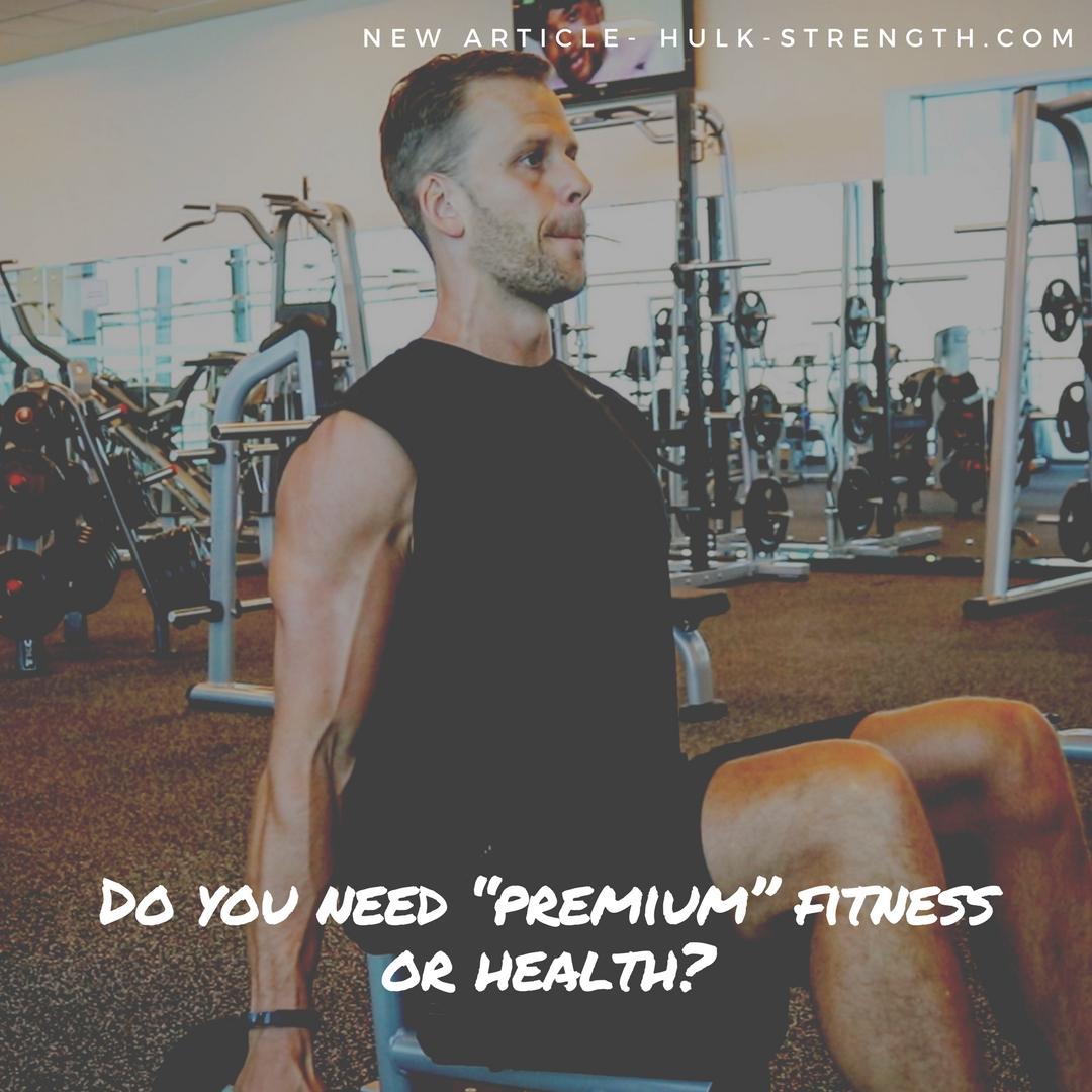 premium health Adam McCubbin