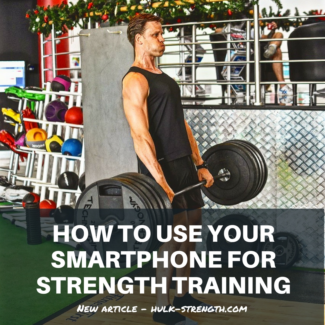 How to use your smartphone for strength training