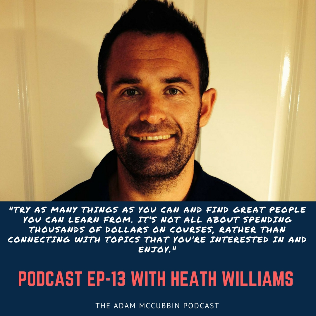 Heath Williams podcast