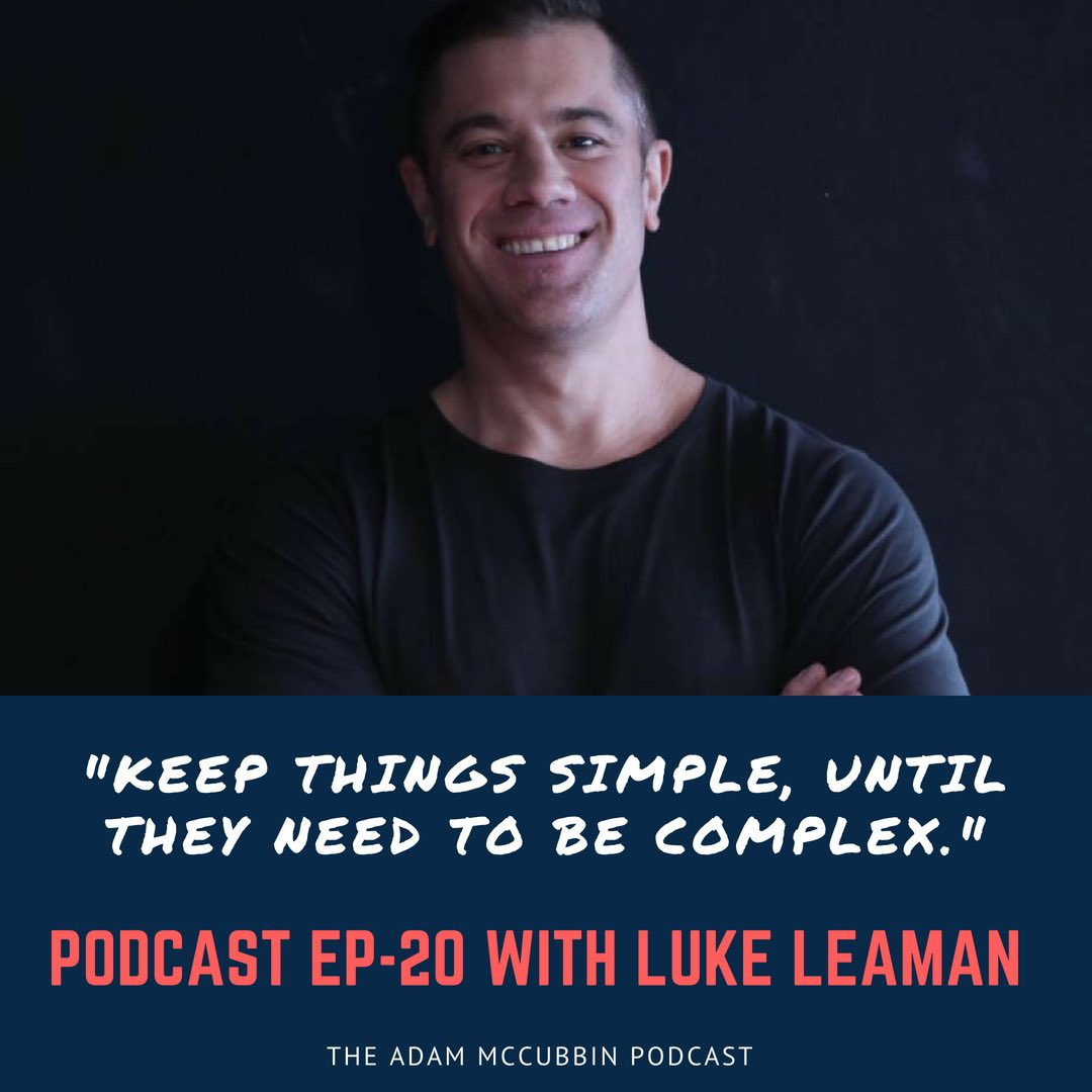 Luke Leaman podcast