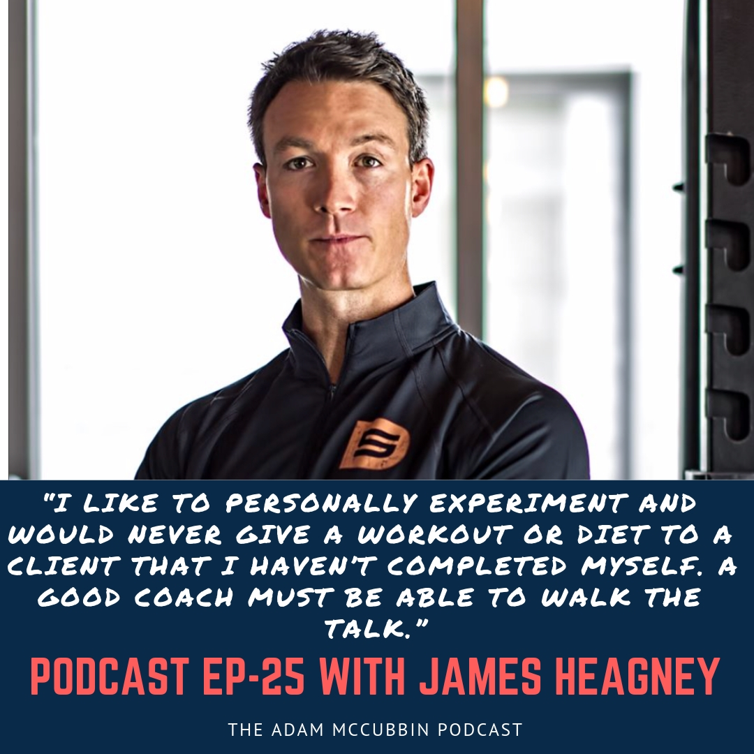 James Heagney podcast