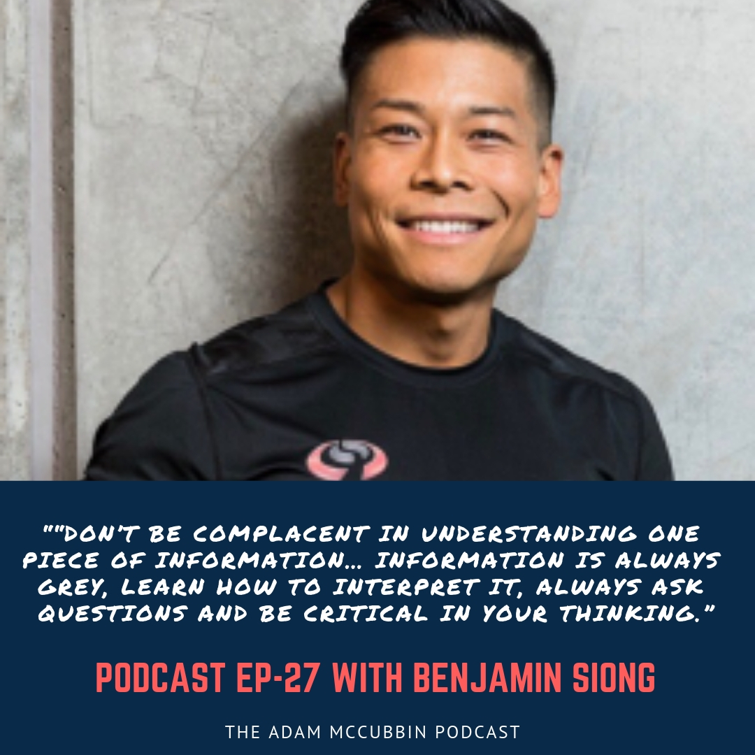 Benjamin Siong podcast