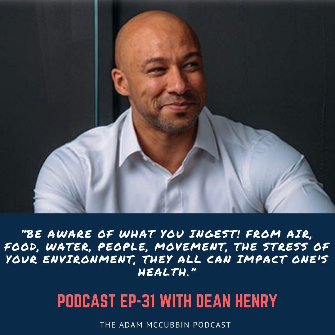 Dean Henry health coach