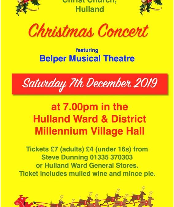 Hulland Christmas Concert
