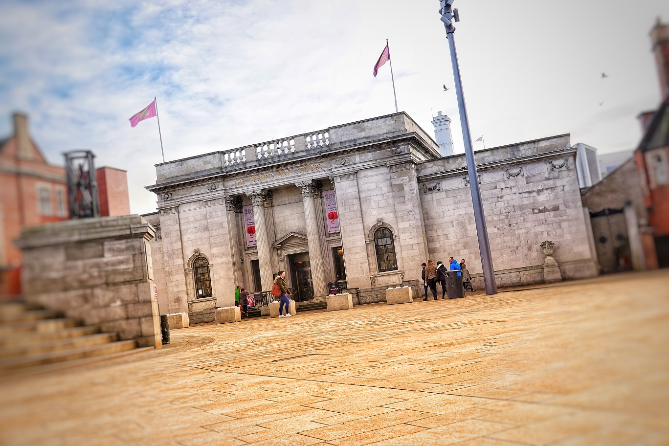 A community feedback day took place at Ferens Art Gallery.