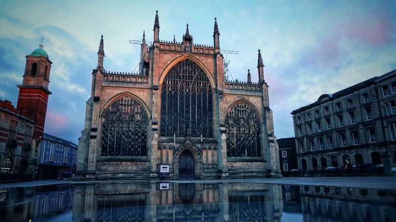 The Hull Minster.