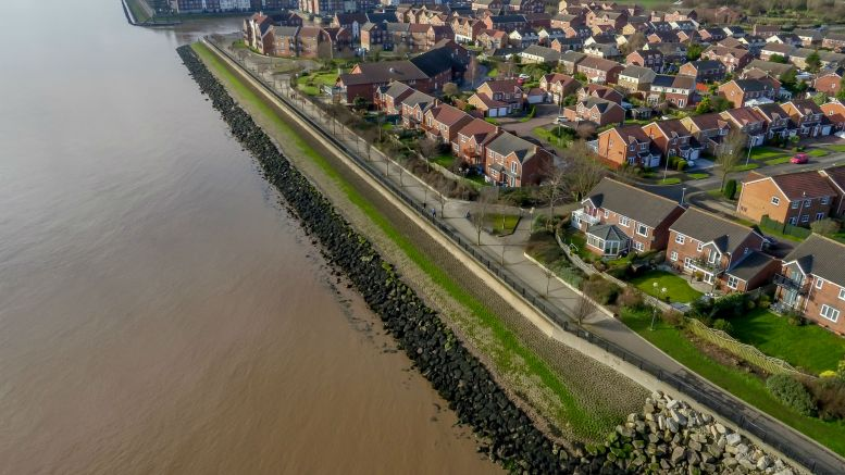 A £42 million investment in the city will see the height of defences raised along more than four miles of the Humber foreshore, from St Andrew's Quay and Victoria Dock Village.