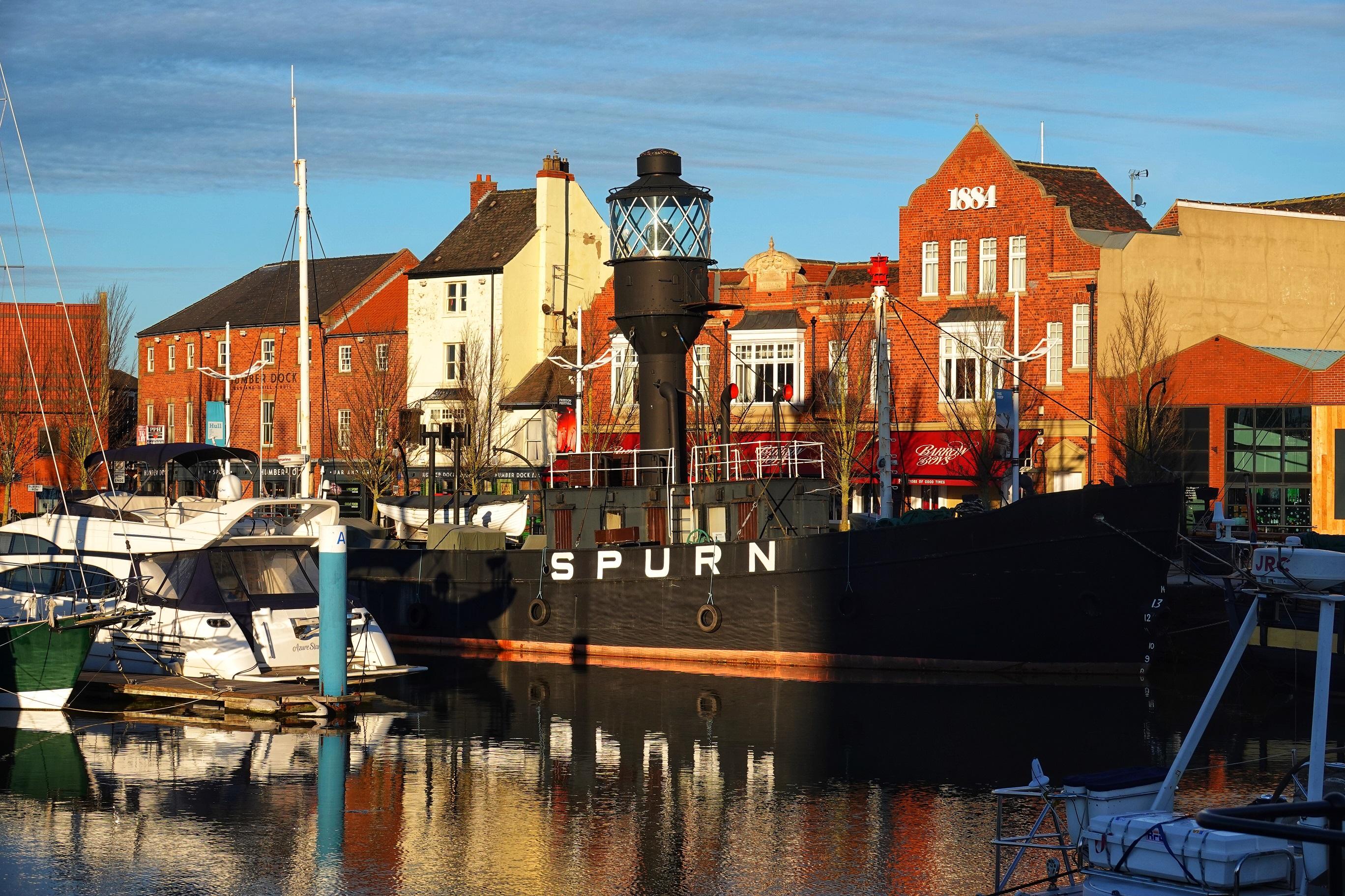 The Spurn Lightship.
