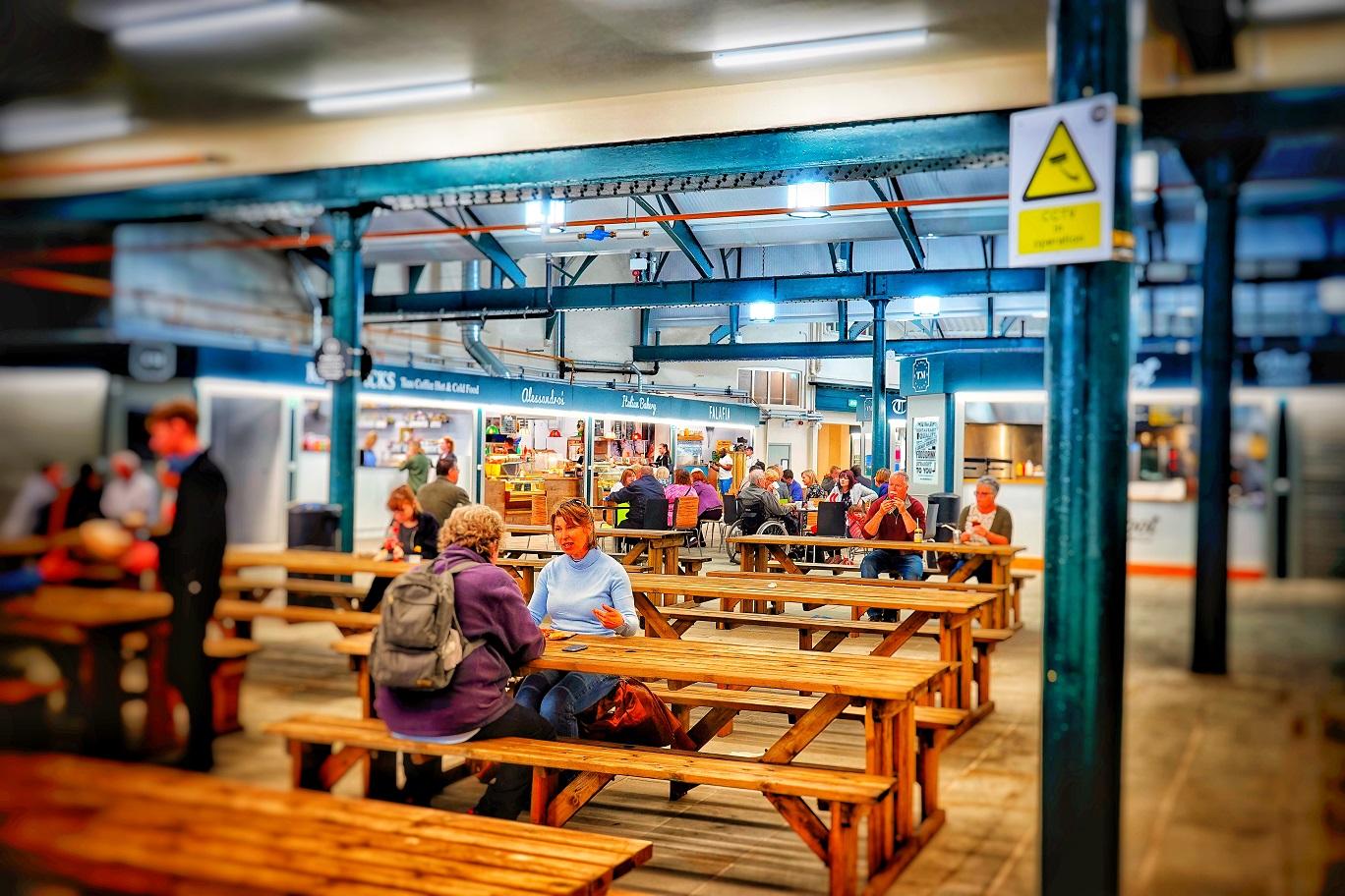 Trinity Market hosts regular popular events.