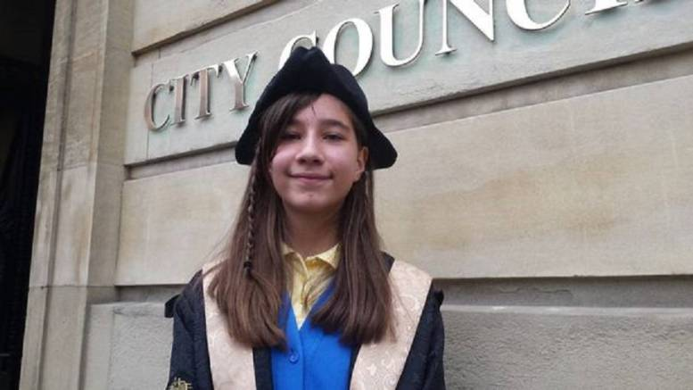 Emily Koyunca, Hull's first Young Lord Mayor. Picture: Hull Daily Mail