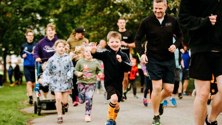 The junior parkrun takes place at Alderman Kneeshaw recreation ground every Sunday at 9am.