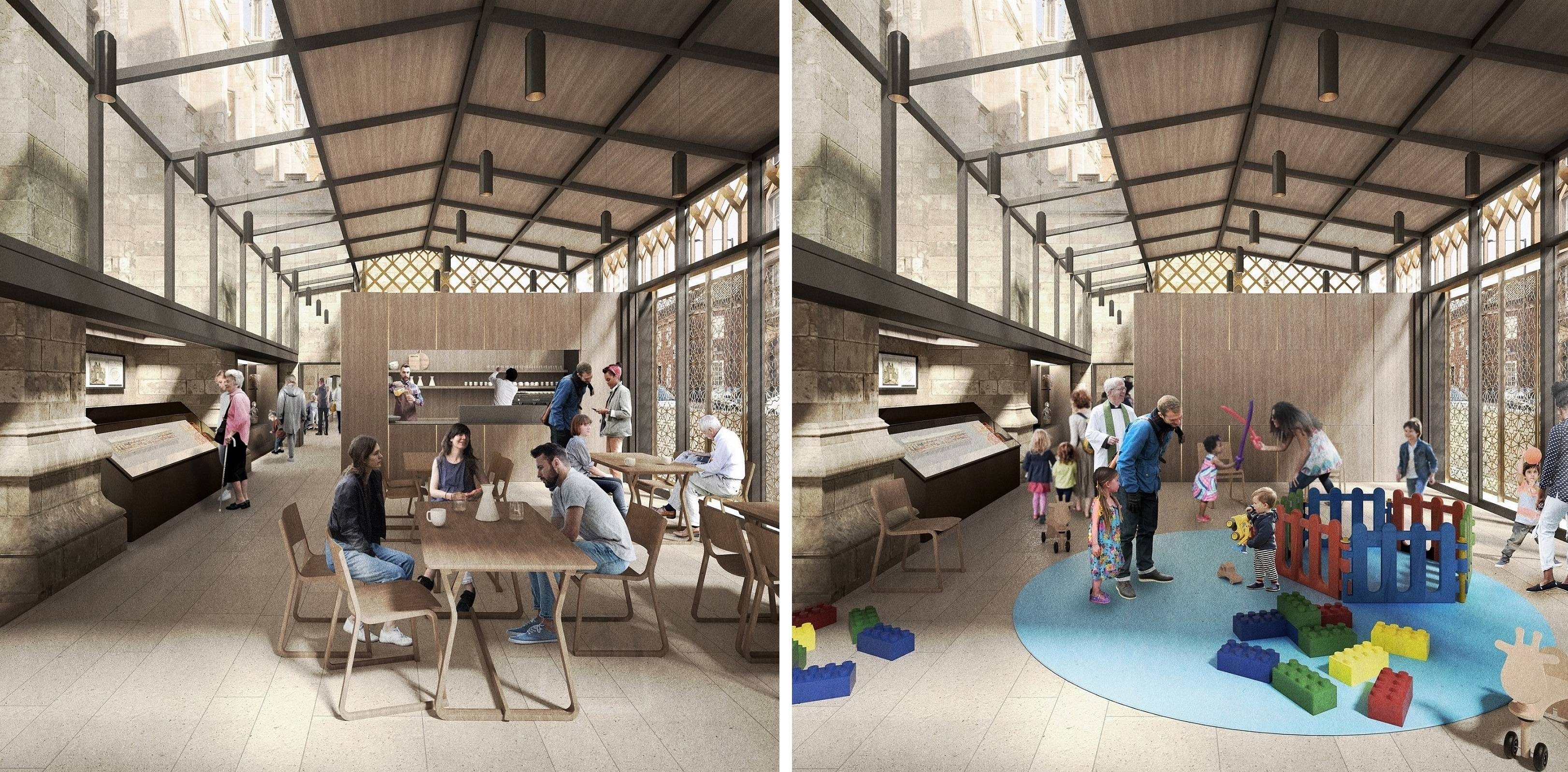 The new visitor and heritage centre will enable Hull Minster to accommodate a broader range of community activities, including for families.