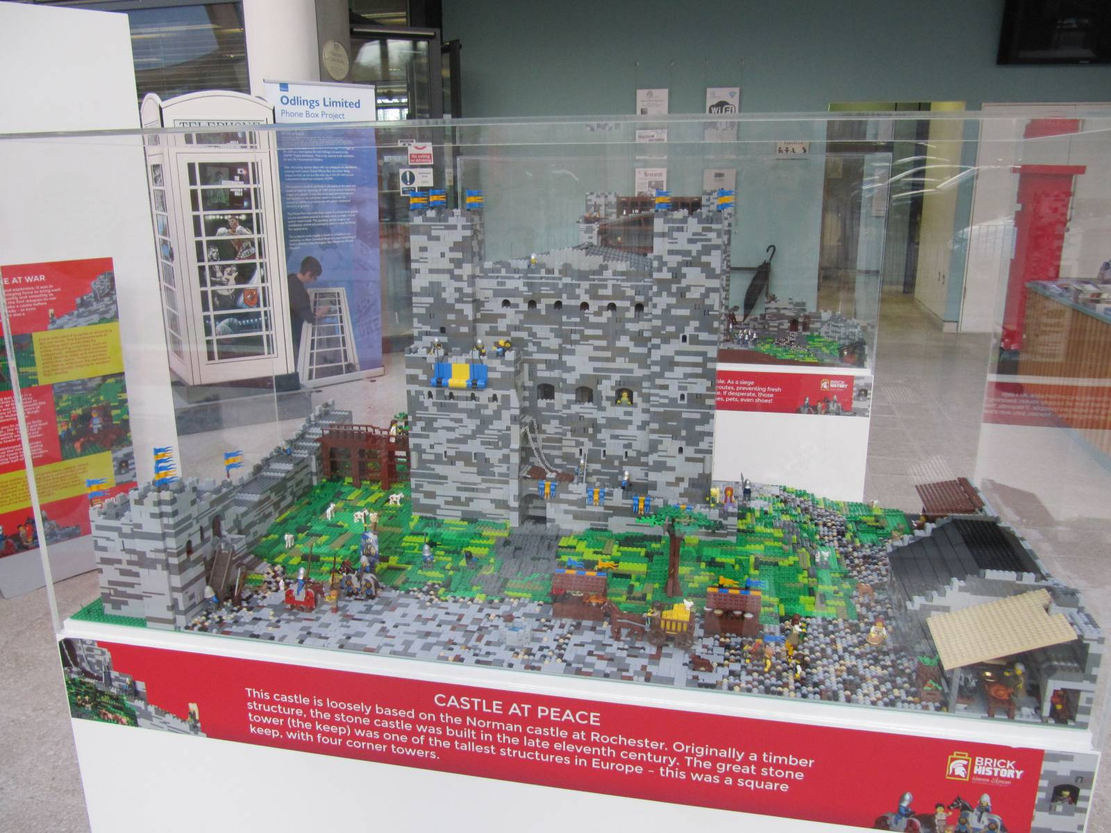 Brick History, an exhibition of major historical milestones made entirely from Lego, is on display at the Hull History Centre until Saturday 9 March.