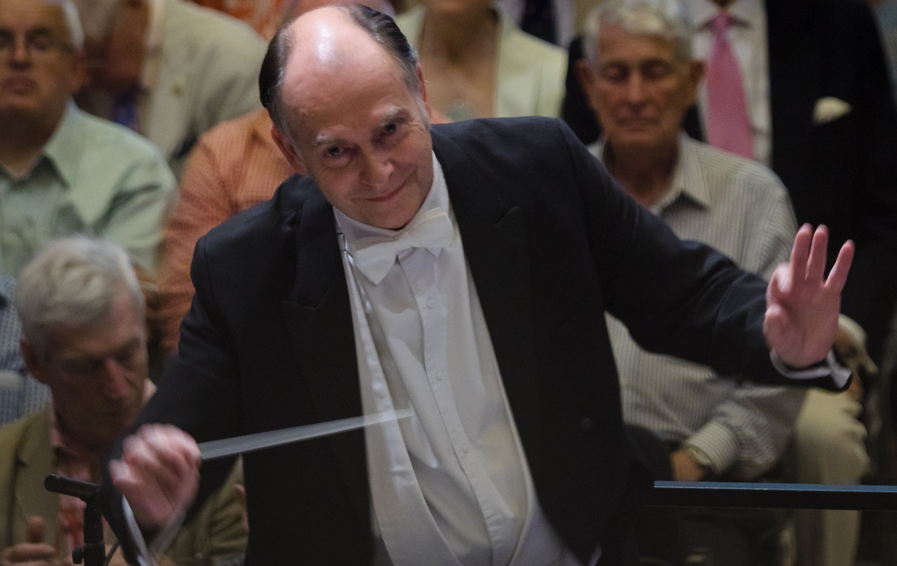 The Royal Philharmonic Orchestra will be conducted by Adrian Partington.