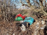 Bags of waste left in Cumbrian Way
